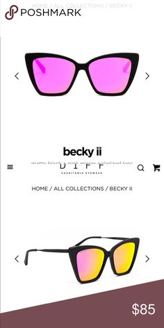 1f31c8ee917 Diff eyewear Becky II Brand new in original packing! Diff Eyewear  Accessories Glasses Eyewear