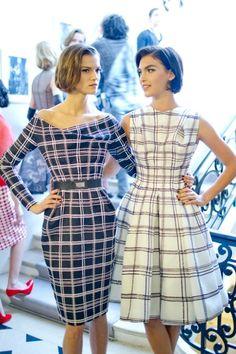 Dior, modern 50's style