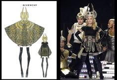 Madonna's Tour, Dressed by Givenchy Haute Couture.