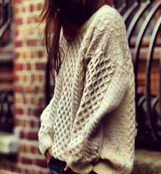 Comfy & cute cable knit sweater #fallfashion #betechchic
