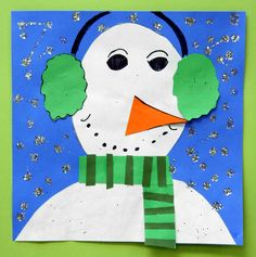 Well, it finally decided to look like winter here in the Midwest. So, what better way to ring in the season than to make some winter animal. Winter Art Projects, Winter Project, Winter Fun, Winter Theme, Winter Ideas, Christmas Art, Christmas Projects, Christmas Ornaments, Kindergarden Art