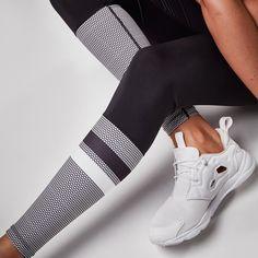 Zoe Runway Black Leggings by Lilybod - want!!