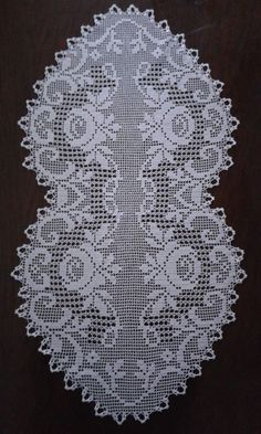 Crochet Bikini Pattern, Crochet Doily Patterns, Crochet Motif, Crochet Doilies, Crochet Stitches, Filet Crochet, Crochet Round, Crochet Chart, Crochet Table Runner Pattern