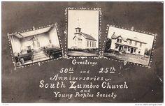RPPC Zumbro, Minnesota , 00-10s ;  South Zumbro Church & Young Peoples Society