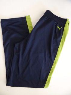 220223201915 PUMA Men s Black 100 Polyester Track Pants Size S