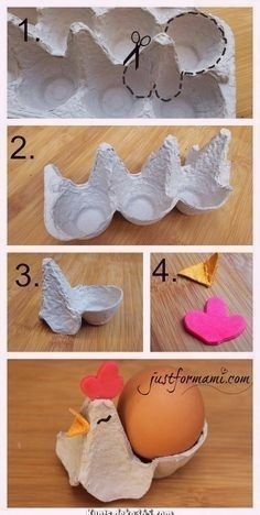 craft for kids easter & craft for kids ; craft for kids easy ; craft for kids to make ; craft for kids easy diy ; craft for kids easter ; craft for kids easy preschool ; craft for kids at home ; craft for kids spring Diy And Crafts, Arts And Crafts, Paper Crafts, Recycled Crafts, Decor Crafts, Easter Crafts For Kids, Diy For Kids, Egg Carton Crafts, Egg Decorating