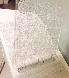 THIS IS A GREAT IDEA. THIS IS A 12X12 CLEAR STAMP STORAGE SYSTEM BY INKZ