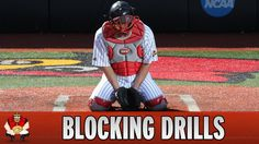 Catching 101 - Baseball Catcher Blocking Drills for Jack Softball Workouts, Softball Drills, Softball Coach, Girls Softball, Softball Stuff, Softball Hair, Volleyball Gifts, Coaching Volleyball, Softball Treats