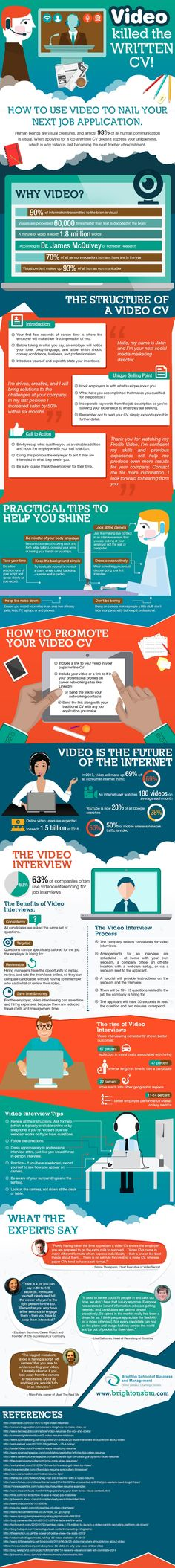 Top 5 Tips for Creating Impressive Video Resumes - video resume example