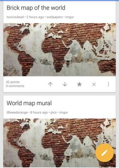 Where humans live reddit funnies pinterest reddit funny brick world map poster gumiabroncs Choice Image