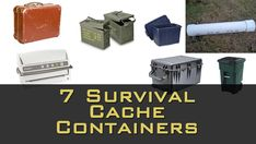 7 Survival Cache Containers