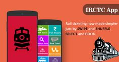 Now Get All and Each information relatted about Indian Railways at irctc app. The IRCTC app is providing multiple facilitates With multi features to your smartphone like as checking IRCTC Train fares, search trains list,   stations details, station list, train schedules, railway news & updates, train routes, pnr status checking, maps and other railways info.
