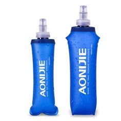 camping gifts AONIJIE New TPU Folding Soft Flask Lightweight Running Sport Water Bottle with Silicon Cap Hiking Cycling Water BagBPA PVC Free *** AliExpress Affiliate's buyable pin. View the item in details on www.aliexpress.com by clicking the image