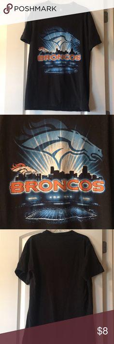 Denver Broncos Shirt Denver Broncos shirt has some wear but has lots of life  left! 5b11fb9b9