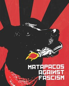Negro Matapacos | El arte detrás de un símbolo de revolución social Social Projects, Political Art, Arte Popular, Anarchy, Graphic Design Inspiration, Chile, Pop Art, Cool Pictures, Stencils