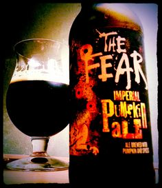 """Flying Dog Wild Dog The Fear Imperial Pumpkin Ale....Dark and delicious....Let """"The Fear"""" embrace you! #Beer"""