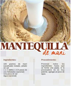 Mantequilla de maní o cacahuate