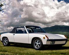 Classic Poster featuring the digital art Porsche 914 by Douglas Pittman