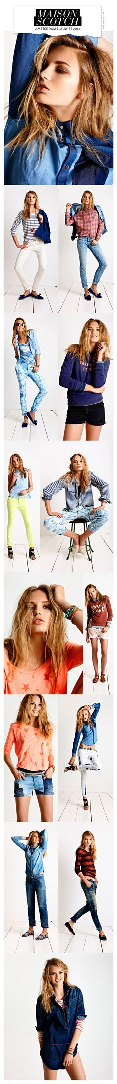 Maison Scotch Amsterdam Blauw SS 2013 | The House of Beccaria~