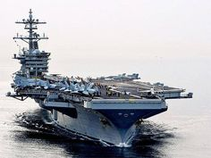 Aircraft Carriers In advance of USS Theodore Roosevelt (CVN 71)