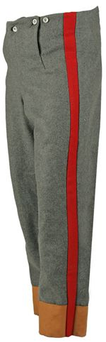 CT588FL Fall Front Trousers with Leather Cuffs