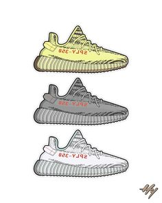 Image of ★ NEW ★ Yeezy 350 Collection Print wallpapers