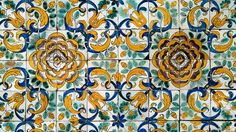 "The story behind Lisbon's beauty | via BBC Travel | 24/05/2014 Azulejos first came to Portugal in the 15th Century, when parts of the Iberian Peninsula were still under Moorish rule. Although many assume the word is a derivation of azul (Portuguese for ""blue""), the word is Arabic in origin and comes from az-zulayj, which roughly translates as ""polished stone"". #Portugal"
