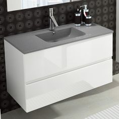You want to make sure that the height of your vanity is comfortable for everyday use. http://www.ybath.com/blog/modern-bathroom-vanity-how-to-choose-the-right-size/ #YinTheWild