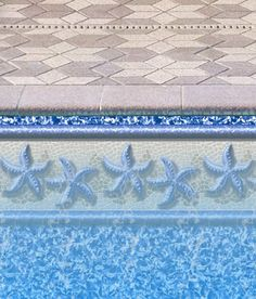 Image detail for -In-Ground Pool Liner Patterns