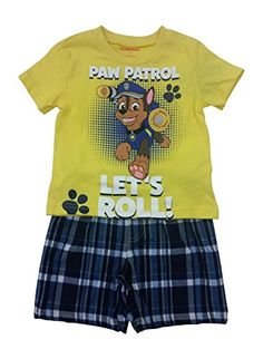 Paw Patrol Boys 2 Piece Shirt  Plaid Short Set 18 months -- Find out more about the great product at the image link.Note:It is affiliate link to Amazon.