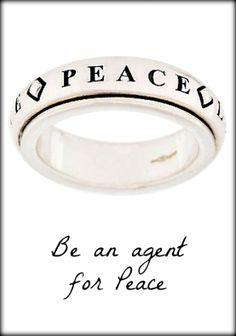Revolving Prayer Ring on Lavaggi.com #inspirational #jewelry #lavaggi