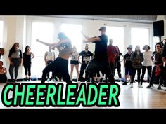 I'll rather learn to dance, yup | CHEERLEADER - OMI Dance Video | @MattSteffanina Choreography (Beg/Int) - YouTube