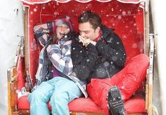 Felicity Jones & Ed Westwick in Chalet Girl Chalet Girl, Ed Westwick, Felicity Jones, Chuck Bass, My Favorite Things, Movies, Fictional Characters, Film, Tv
