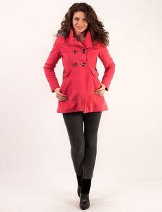"""Palton """"Hood Muse"""" Fucsia How To Wear, Jackets, Fashion, Down Jackets, Moda, Fashion Styles, Fashion Illustrations, Jacket"""