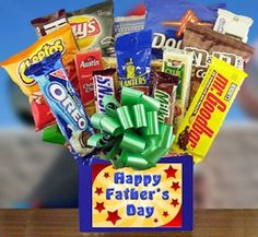 Father's Day Snack Time Gift Box