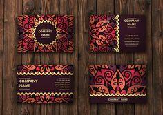 Mandala Pattern Business Card 01 By Maria So On Creative Market Branding Logo