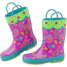 Stephen Joseph Kids Rain Boot 8