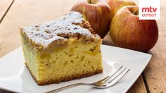 Gloria's Apple Cake: Invite your friends for coffee and settle in with this old-fashioned cake that smells so good while it's baking.and tastes even better when it's done. Goat Cheese Bruschetta Recipe, Goat Cheese Recipes, Goat Cheese Salad, Food Cakes, Cupcake Cakes, Aga Recipes, Baking Recipes, Apple Recipes, Apple Traybake