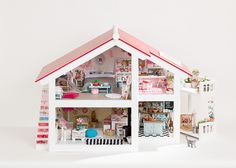 Miniature dolls house - Elines Poppenhuis