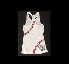 Youth Softball/Baseball Sister Shirt.Custom Number on