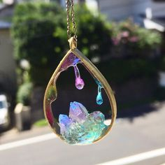 Ideas For Jewerly Resin Beautiful Kawaii Jewelry, Cute Jewelry, Jewelry Accessories, Unique Jewelry, Diy Schmuck, Schmuck Design, Resin Jewelry, Jewelry Crafts, Resin Necklace