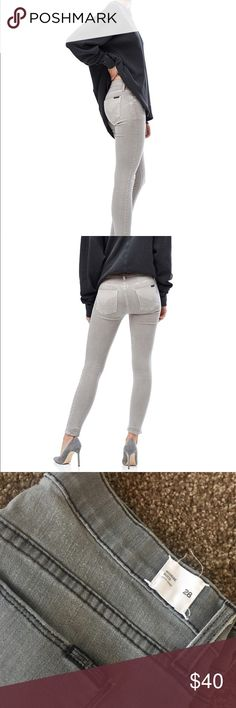 Hudson Super Skinny Distressed Chiffon Jean Super skinny ankle slightly higher waistline to deliver a comfortable fit while radiating a modern silhouette.  Super soft fabric stone washed details. Hudson Jeans Jeans Skinny
