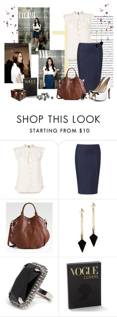 """""""Krystal f(x)"""" by nikol128 ❤ liked on Polyvore featuring Krystal, Vero Moda, Zara, Tory Burch, ALDO, BaubleBar, Graphic Image, Guide London, SuperTrash and country"""