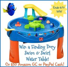 Step2 Finding Dory Swim & Swirl Water Table Giveaway - OR $50 PayPal Cash!! World Wide (ends 6/17)