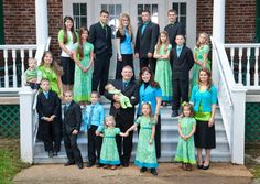 The Bates Family. I love them!! I actually prefer their show to the Duggars'...I think because the Bates are more like our family in their personalities/interests.