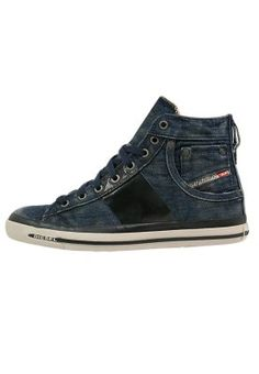 Diesel EXPOSURE - High-top trainers - denim for £130.00 (10/05/15) with free delivery at Zalando