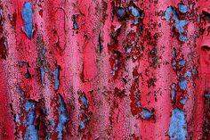 Blue Red Blue by Irishstones, via Flickr