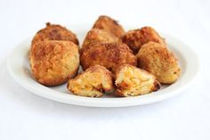Fried bacon macaroni and cheese Balls   Kirbie's Cravings   A San Diego food & travel blog