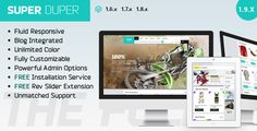 Shopping Super Duper : Ultimate Responsive Magento Themewe are given they also recommend where is the best to buy