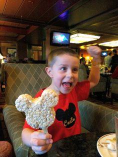 Mickey Rice Krispy Treats!
